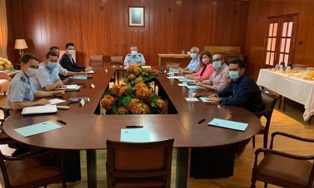 """José Miguel Luengo se reúne con representantes del Ejército del Aire para avanzar en el proyecto """"San Javier, ciudad del Aire"""""""