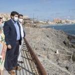 La Comunidad de Murcia revitaliza la fachada marítima de La Manga con una plaza al mar que llevará el nombre de la AGA