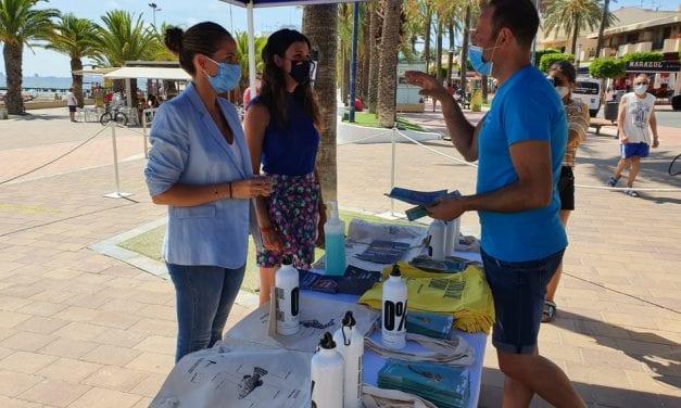Presentada en Santiago de la Ribera la campaña Mar Menor 2020
