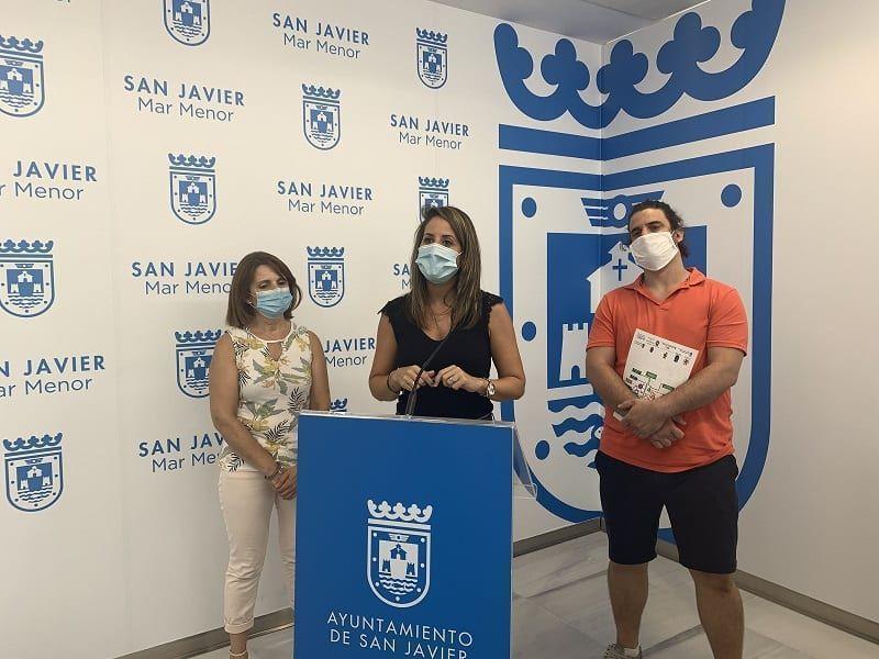 Un servicio gratuito del ayuntamiento de San Javier de respiro familiar para familiares cuidadores de personas dependientes