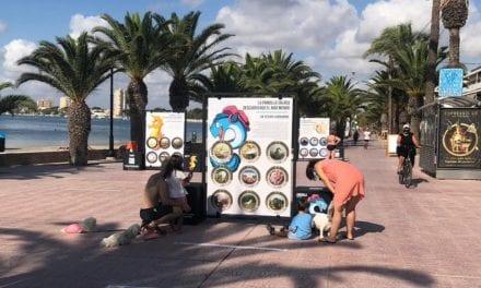 """""""La Pandilla Salada, descubriendo el Mar Menor"""" la primera exposición interactiva urbana itinerante"""