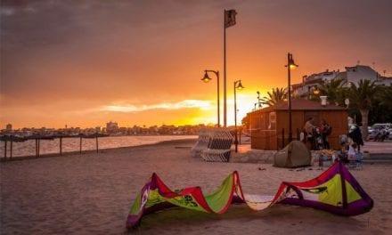"""""""Atardecer en Lo Pagán"""", gana el primer premio del concurso de fotografía """"Imágenes del Mar Menor"""""""