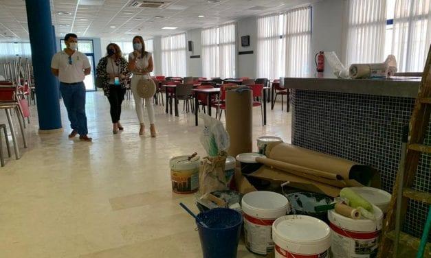 El Ayuntamiento de San Javier invierte 20.000 euros el Centro de Personas Mayores de Santiago de la Ribera