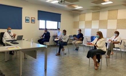 El alcalde, José Miguel Luengo propone la creación de un punto COVID-19 en el municipio de San Javier