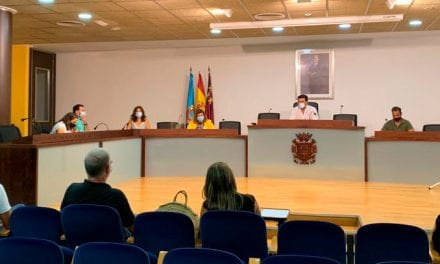 Reunión del comité de seguimiento COVID-19 en San Javier