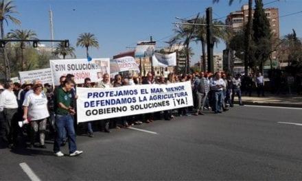 Vecinos del Mar Menor protestan hoy jueves por la contaminación de la laguna salada de Murcia
