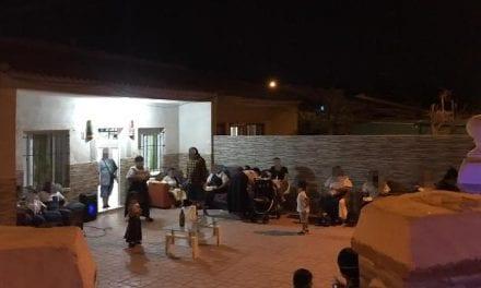 Desalojan a una treintena de asistentes a una fiesta en una casa de Santiago de la Ribera