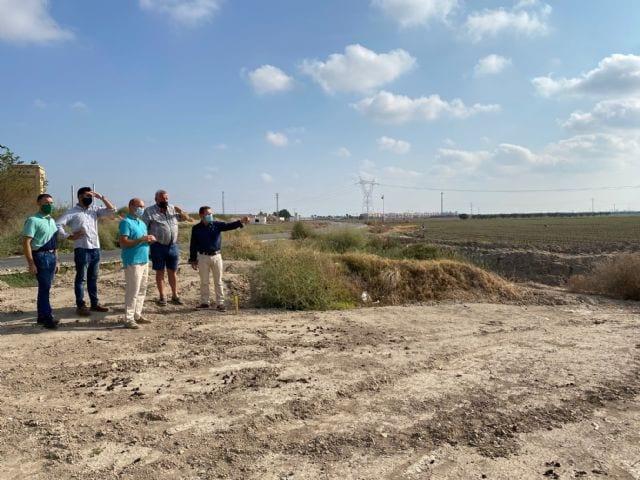 El Ayuntamiento de Torre Pacheco cede los terrenos para la construcción de un Tanque de Tormentas