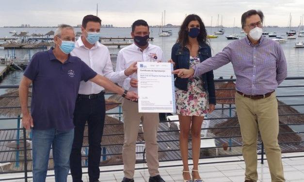 El Real Club de Regatas de Santiago de la Ribera recibe el Sistema de Gestión Ambiental ISO 14001