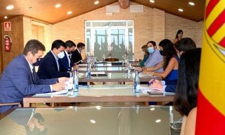 El alcalde de San Javier, José Miguel Luengo critica la inacción del Estado ante el Plan Vertido 0