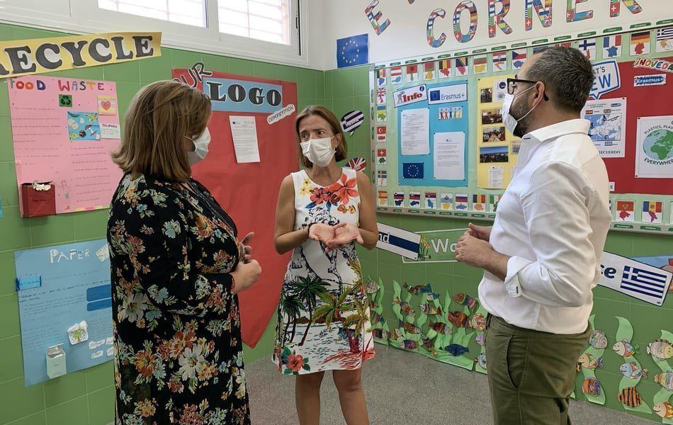 El curso escolar arranca sin incidencias para cerca de 7000 alumnos de Infantil, Primaria y Secundaria en San Javier