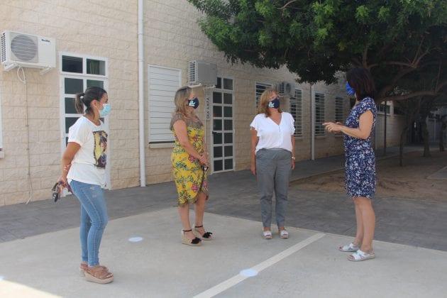 Empieza el curso 2020-2021 en los colegios de San Pedro del Pinatar, marcado por las medidas anti Covid-19