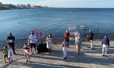 Se entregan los premios del concurso de fotografía para la promoción de la nueva plaza al mar de La Manga
