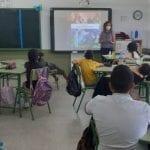 Forman a alumnos de primaria en San Pedro del Pinatar sobre el buen uso de las tecnologías y el desarrollo de ocio alternativo