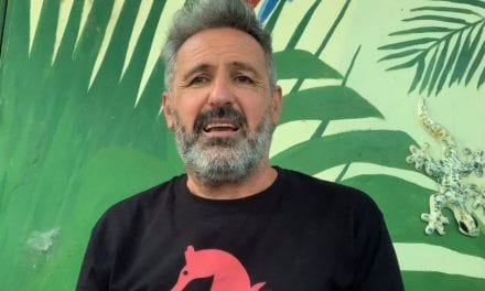Matias Cantabella, el concejal de Unidas Podemos San Javier lanza una recogida de firmas para declarar al Mar Menor parque regional