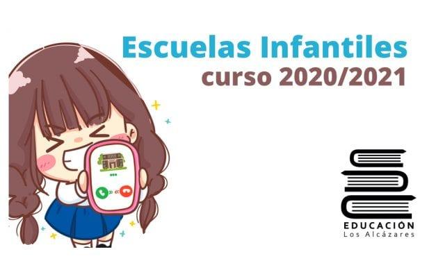 Nuevos números de teléfono para contactar con las escuelas infantiles de Los Alcázares