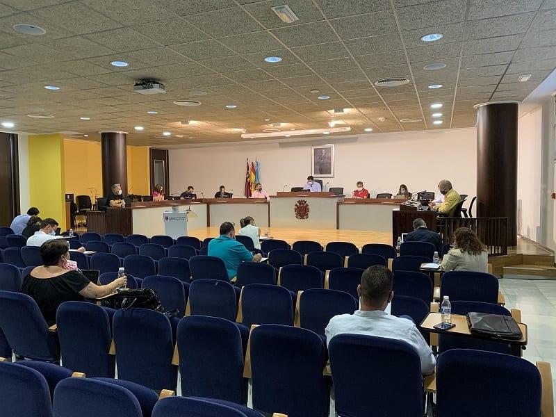 Resumen acuerdos pleno de ayuntamiento de San Javier septiembre 2020
