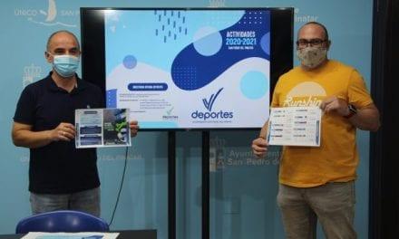 Ayuntamiento de San Pedro del Pinatar presenta su nueva oferta deportiva 2020 – 2021
