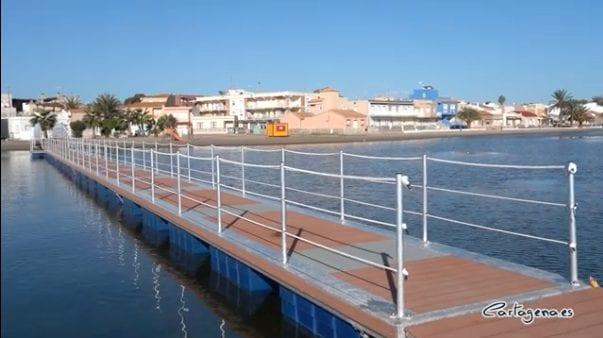 Balnearios y pasarelas mejorarán el baño en diez puntos del Mar Menor