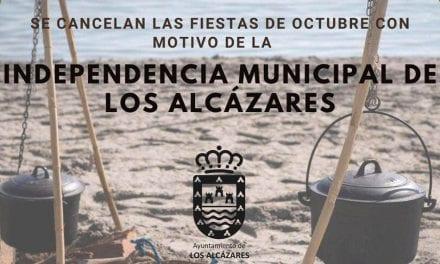 El Ayuntamiento de Los Alcázares suspende sus fiestas de la Independencia Municipal 2020