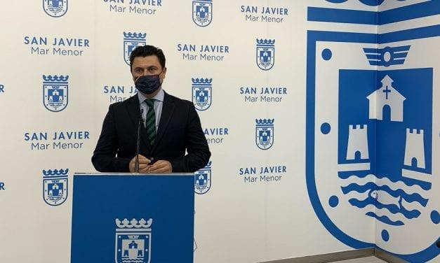El alcalde de San Javier pedirá al presidente López Miras el cierre perimetral del municipio