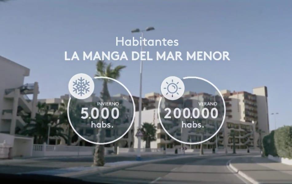 La Manga del Mar Menor, uno de los mayores desastres urbanísticos en la historia del litoral español