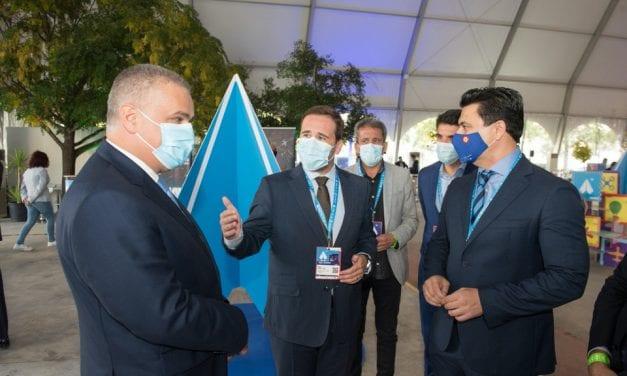 Los alcaldes de San Javier y de Ponte de Sor (Portugal) preparan la Feria aeronáutica Iberian Air Summit