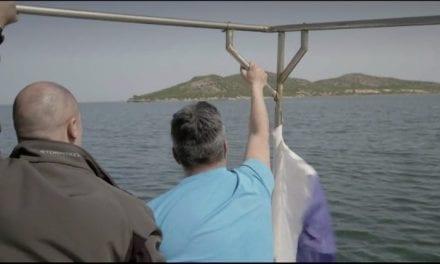 """Jalis de la Serna se sumerge en el Mar Menor este miércoles 14 de octubre, en Natural: """"Es puro fango, puro lodo"""""""