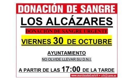 Se necesitan Donaciones de sangre para abastecer a los Hospitales de la región de Murcia
