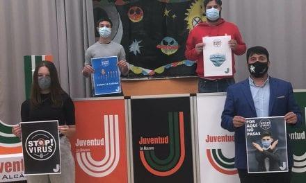 """Ayuntamiento de Los Alcázares lanza en redes sociales la campaña de concienciación juvenil """"STOP VIRUS"""" sobre la Covid-19."""