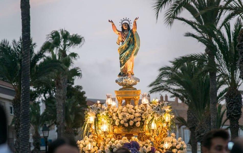 El Ayuntamiento de Los Alcázares llevará a Pleno la propuesta para la Declaración de Interés Turístico Regional del Día de la Virgen