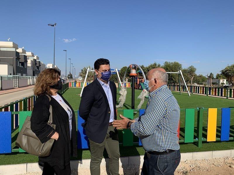 El Ayuntamiento de San Javier invierte 300.000 euros en distintas mejoras en la pedanía de Roda