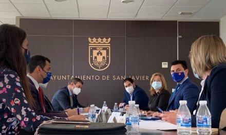 El alcalde de San Javier denuncia la falta de respuesta de Costas del Estado al requerimiento municipal sobre los balnearios