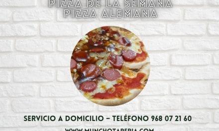 ¡Pizza de la semana en Muncho Tapería!