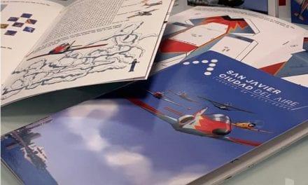 San Javier, ciudad del aire edita un cuaderno de actividades sobre la Aviación y el municipio