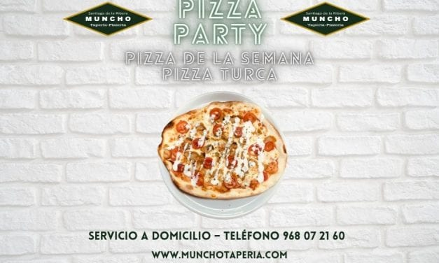 Muncho Taperia estrena nueva Pizza Turca para su servicio a domicilio