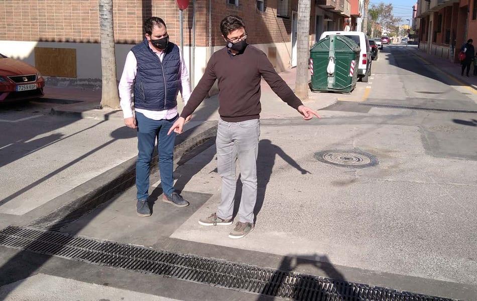 El Ayuntamiento finaliza la obra de canalización de pluviales en las calles San José, Manuel Acedo y Muñoz Zambudio