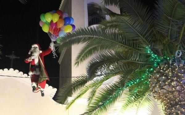 Llegada de Papá Noel a San Pedro del Pinatar