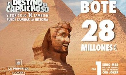 Jugar online a La Primitiva con Bote de 28 millones de euros sábado 16 de enero 2021