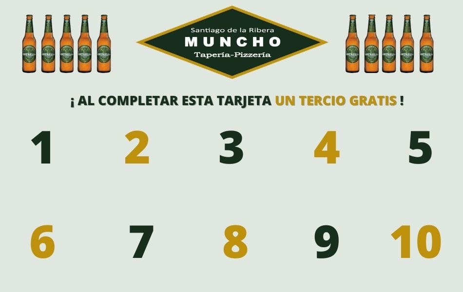 Vuelve la oferta semanal de Estrella Levante en MunchoTaperia.com