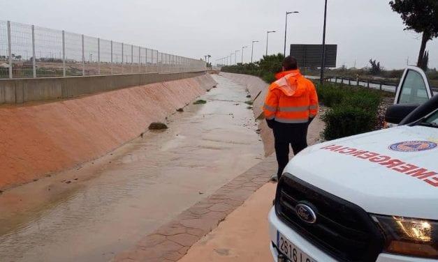 La lluvia barre la Región de Murcia