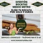 Bocatas de medio metro a 9 euros en MunchoTaperia.com