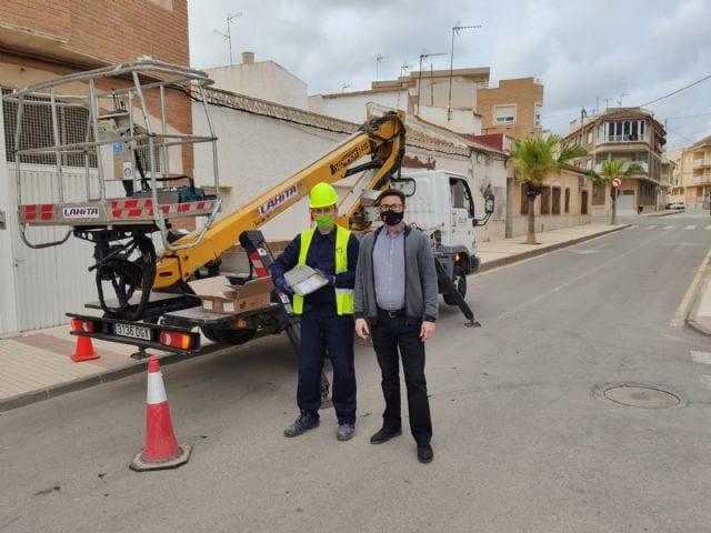 El Ayuntamiento de Los Alcázares mejora la iluminación del casco histórico de con la sustitución de 285 luces LED