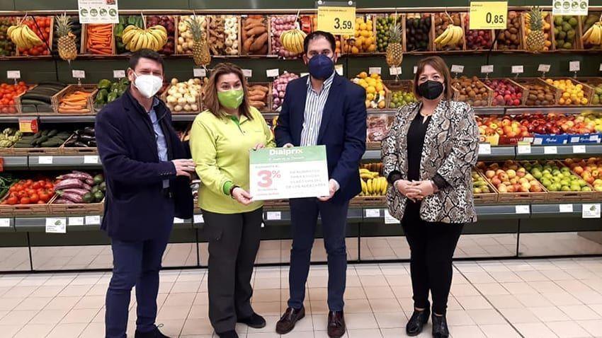Inauguración del renovado supermercado Dialprix en Los Alcázares