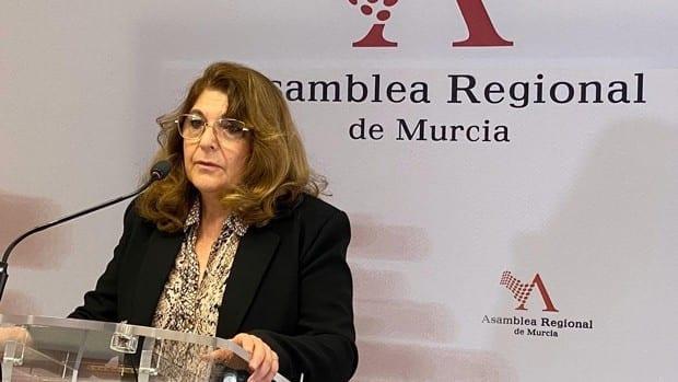 """El PSOE opina sobre la consejera de Vox en la Región de Murcia, """"somos la vergüenza nacional"""""""