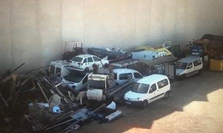 El PSOE San Javier denuncia al Seprona un segundo presunto desguace ilegal de vehículos en instalaciones municipales de San Javier