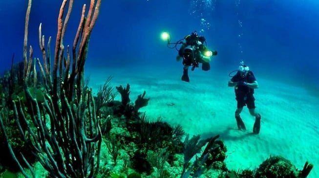 Turismo de buceo arqueológico, la última idea para atraer turistas a La Manga del Mar Menor